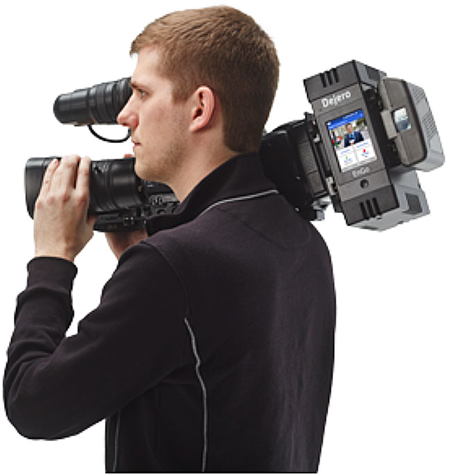 Transmitter Can Be Camera-Mounted or Body-Worn to Deliver HD Pictures With Low Latency, From Any Remote Location.