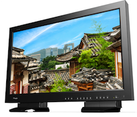 The new TV Logic LUM-310A UHD monitor.