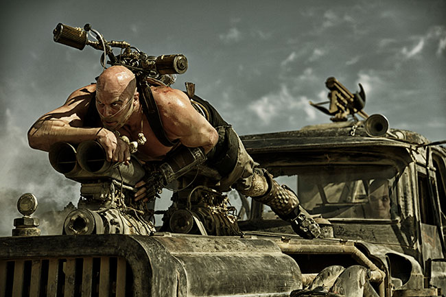 Mad Max: Fury Road shot in Arri Raw over six months.