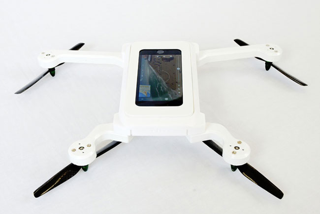 Phone Drone can use any sized smart phone.