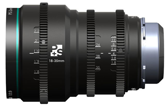 The PS-zoom 18-35 started life as a Sigma f1.8 before P&S re-built it.
