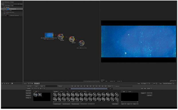 The ConnectFX 3D, Node based effects engine.