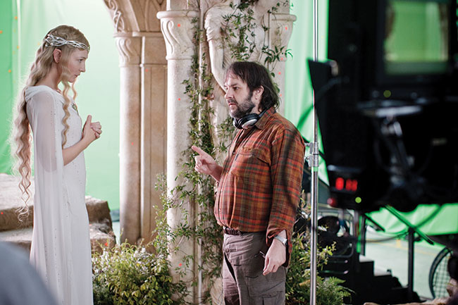 Actress Cate Blanchett and Director Peter Jackson