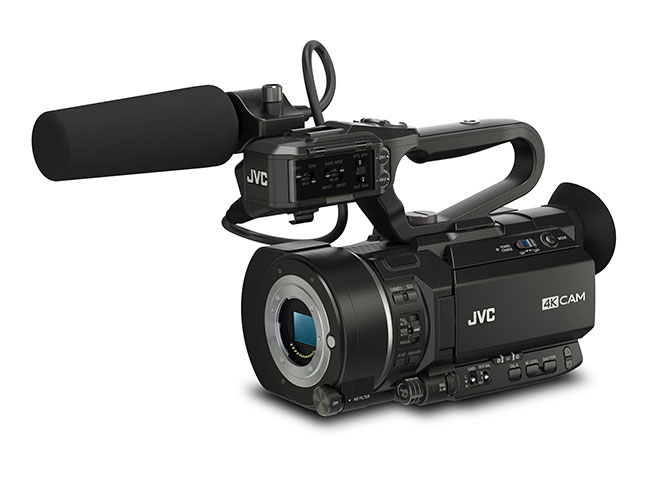 The JVC camera that might worry Sony's new 4k FS7 camera.GY-LS300CHE Super 35mm camcorder - List price £2920.