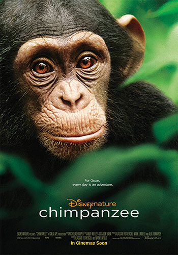 Disneynature's Chimpanzee was a movie release in 2012.