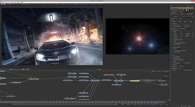 What you do get with the free version of Fusion is an extremely capable 3D compositing and rendering solution.
