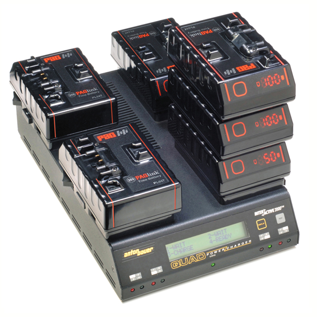 PAGlink is the only system that allows up to eight batteries, in any state of charge, to be linked for charge or discharge.