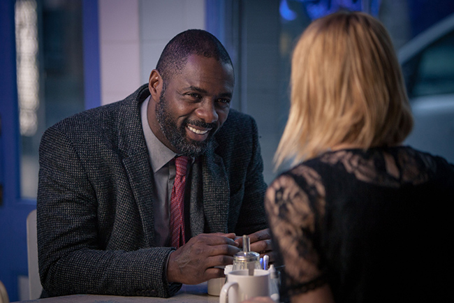 John brought his skill to the latest series of 'Luther'.