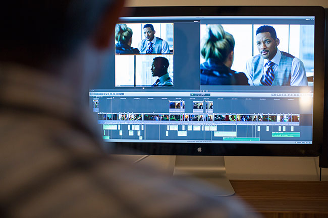After researching several workflows Directors Requa and Ficarra decided to cut their major studio feature entirely in Final Cut Pro X. © Apple inc.