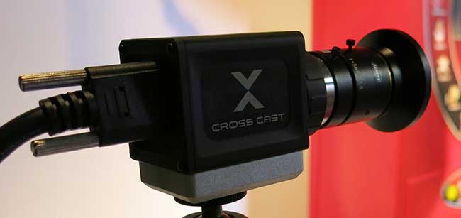 A 350fps high speed camera, new from Germany's CrossCast.