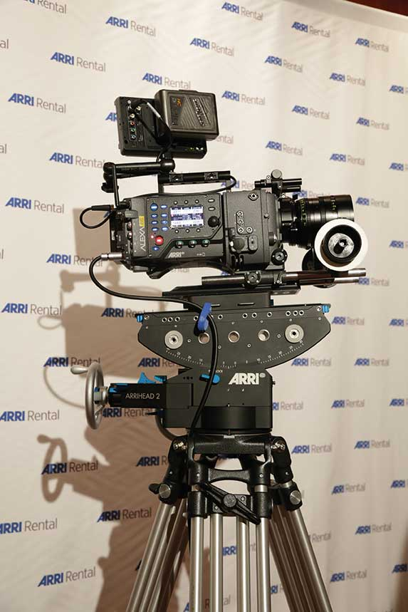The new Arri ALEXA 65 will be for rental only and is available from this month.