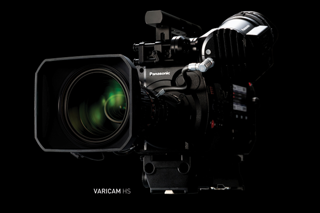 The Varicam HS or High Speed.New Varicam