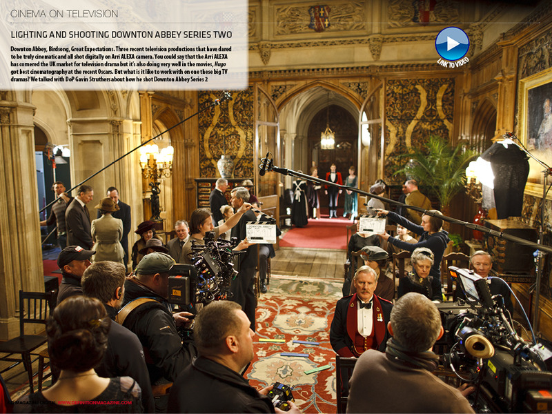 HD Magazine Digital Edition 56 features Downton Abbey production, anamorphic MTV, Grading Great Expectations, reviews of Panasonic's HPX250 and AVID's latest NLE, PLUS much more....