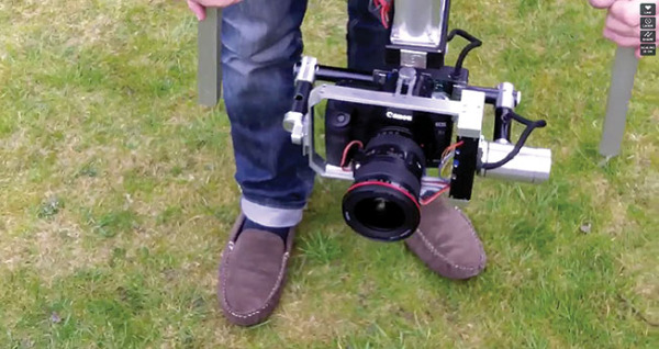 Stabilite is so 'garden shed' tech that the inventor kept his slippers on for their first demo film. Whether this product ever sees the light of day out of the garden is debatable.
