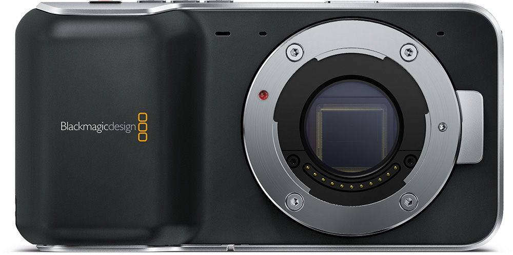 Blackmagic's Pocket and 4K cameras are on their way, but the 4K will take a little longer.