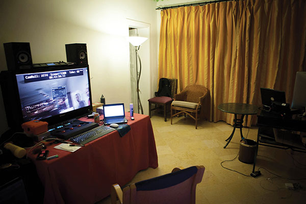 The lab/hotel room where many nights were spent churning through the RAW files.
