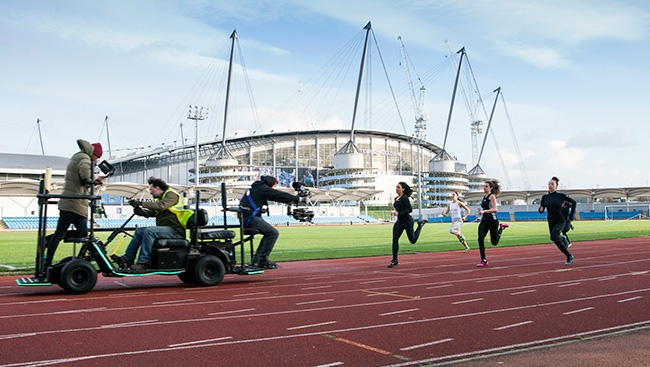 Tracking Team GB sprinters with Flyka