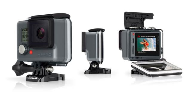 GoPro goes back to basics with their new HERO+LCD camera