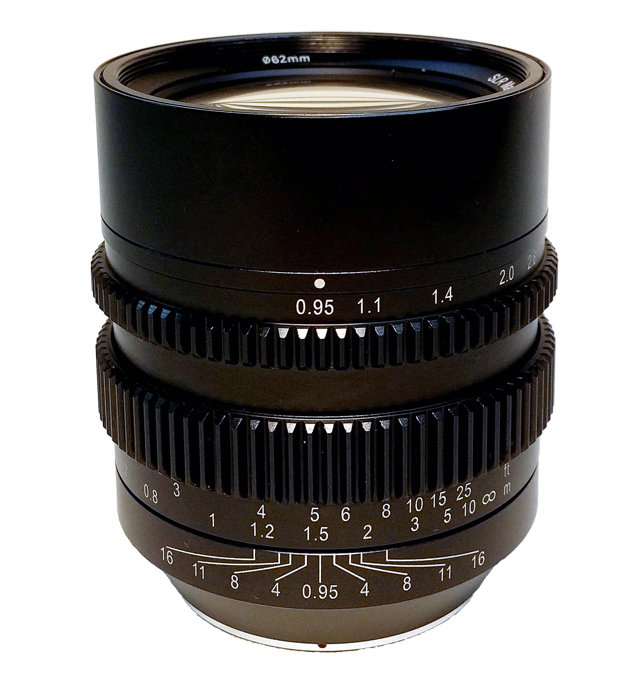 SLR Magic 50mm cine lens.