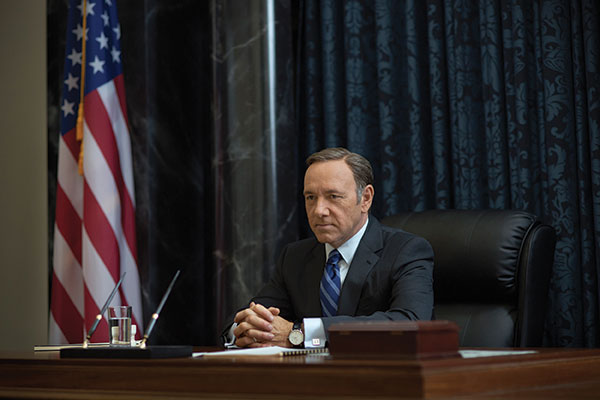 House Of Cards 3 was re-mastered in Dolby Vision by Encore Post in LA on a BaseLight system for a 4K release on Netflix. They re-graded and re-mastered the original .r3D files. The next series will also be encoded in Dolby Vision.