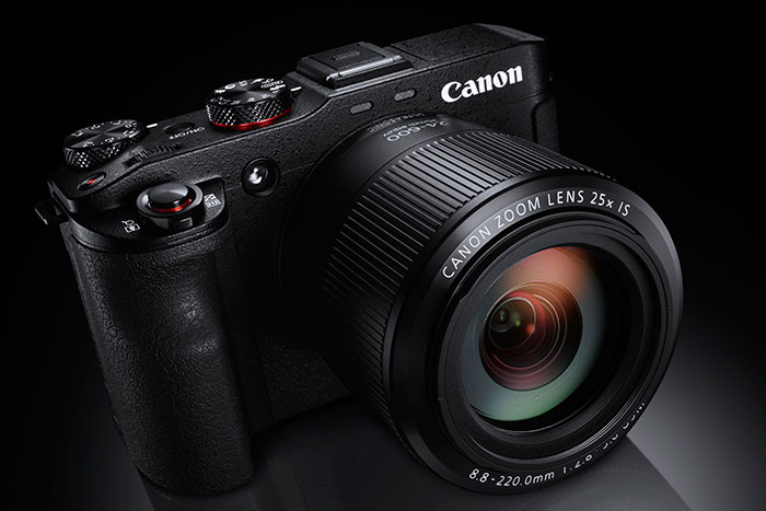 The new Canon G3X has manual control of aperture, shutter and ISO for video capture.