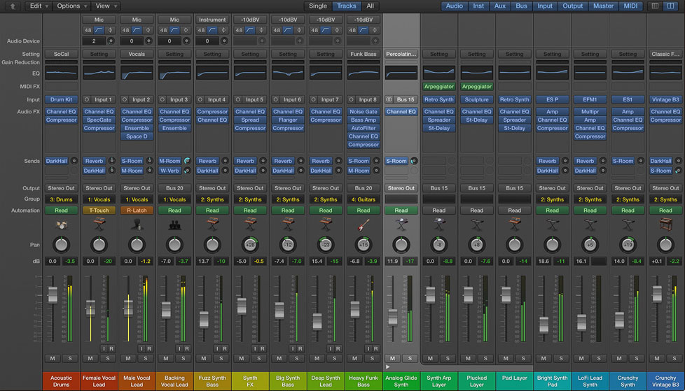 The mixer has had a minor overhaul too, with Relative and Trim modes giving you the ability to fine-tune existing automation by riding the fader.