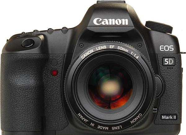 The DSLR that started it all back in 2009, Canon's 5D MkII.