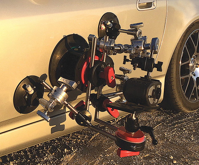 The Freedom Car Mount System from MSE in Burbank, CA.