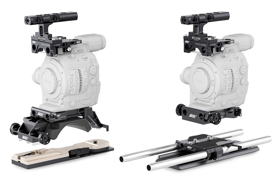 Designed specifically for Canon's latest Cinema EOS cameras, ARRI PCA has introduced a new cine plate for film set environments, an adjustable broadcast plate for documentary-style filming and a top-mounted support plate.