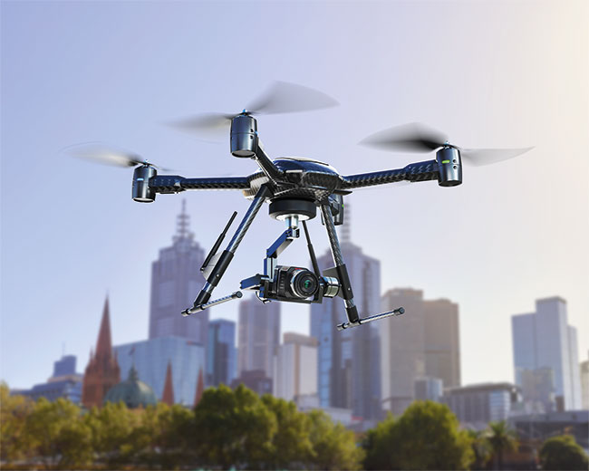 So you want to start a Drone business? Have you the time and the money? ©Blackmagic Design