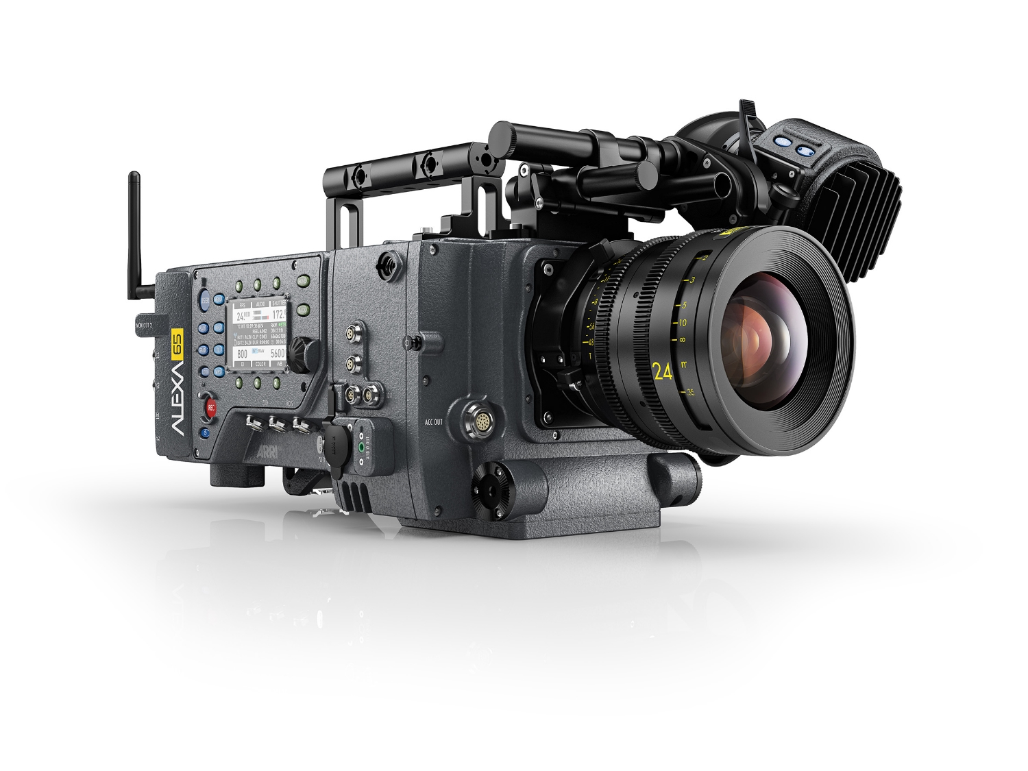 Arri's rental-only Alexa 65 shot a major underwater sequence for the movie.
