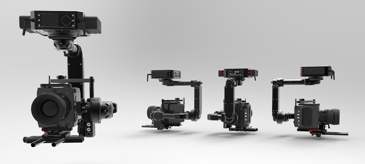 The NEWTON is a Lightweight and gyro-stabilized remote camera head designed for broadcast, amongst other applications.