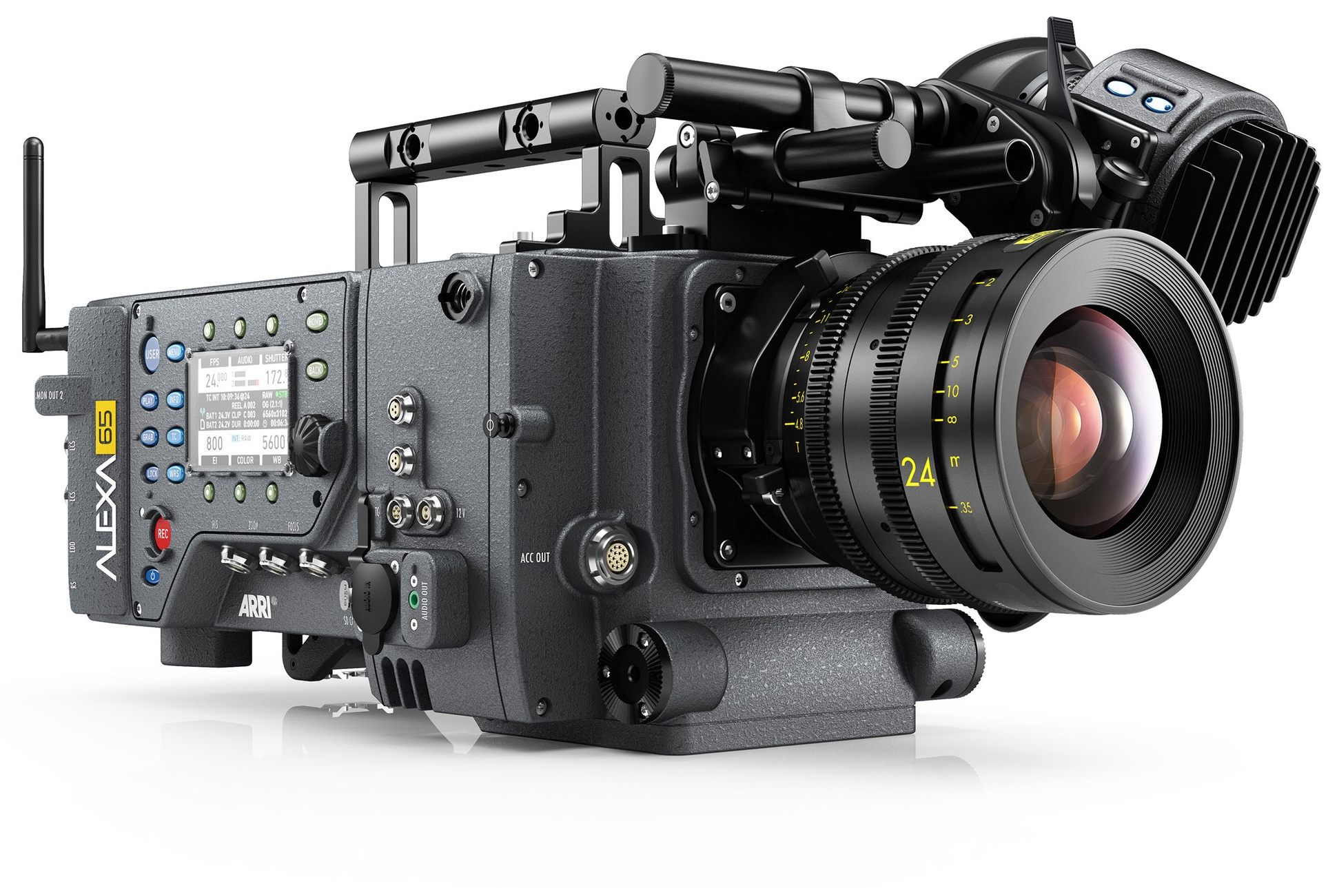With a sensor larger than a 5-perf 65 mm film frame, Alexa 65 could herald the start of Digital IMAX but also start the trend of huge sensors with the aim of preventing the demise of Cinema .