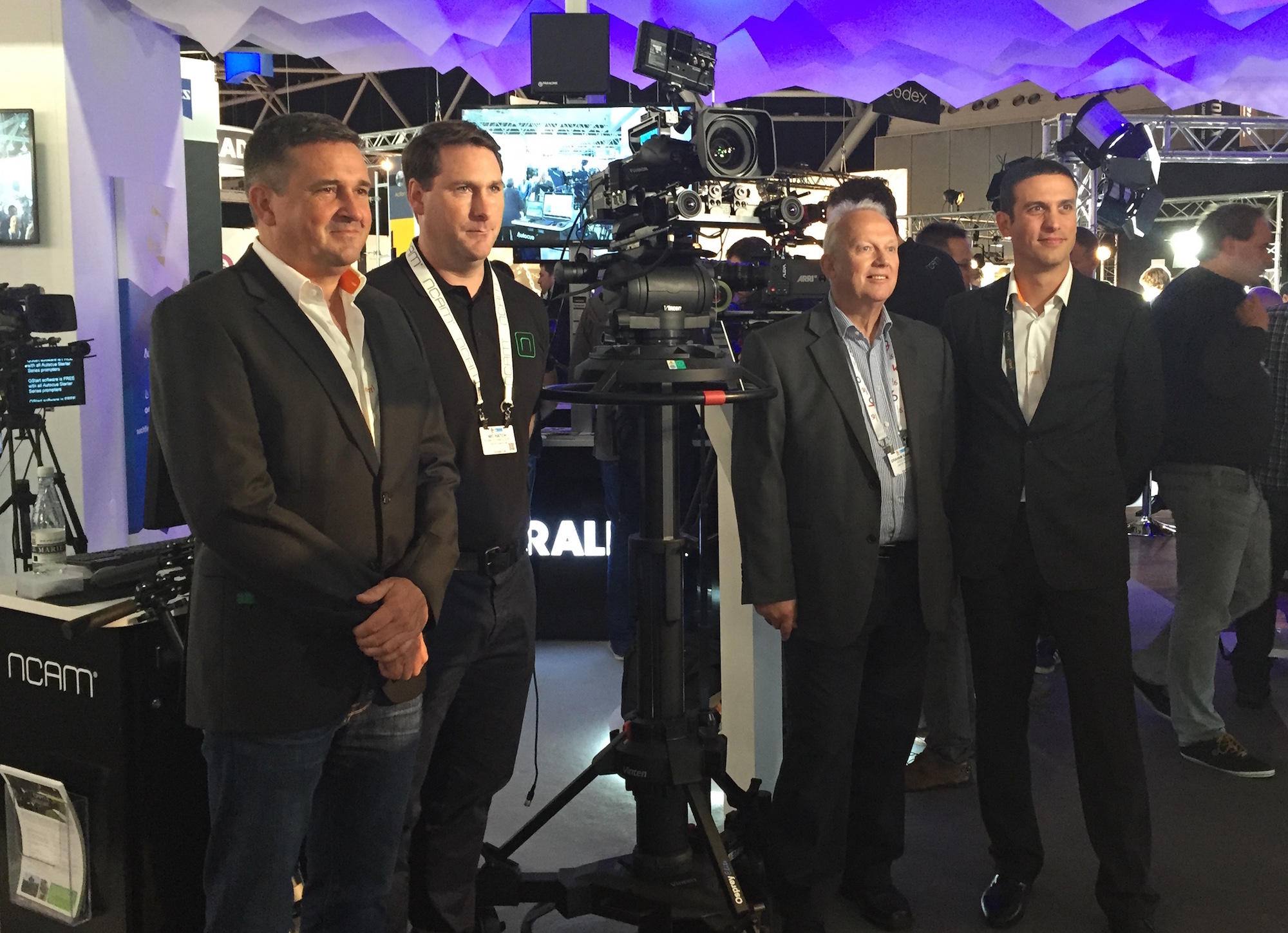 The NCAM deal was announced at the recent IBC 2015 show in Amsterdam.