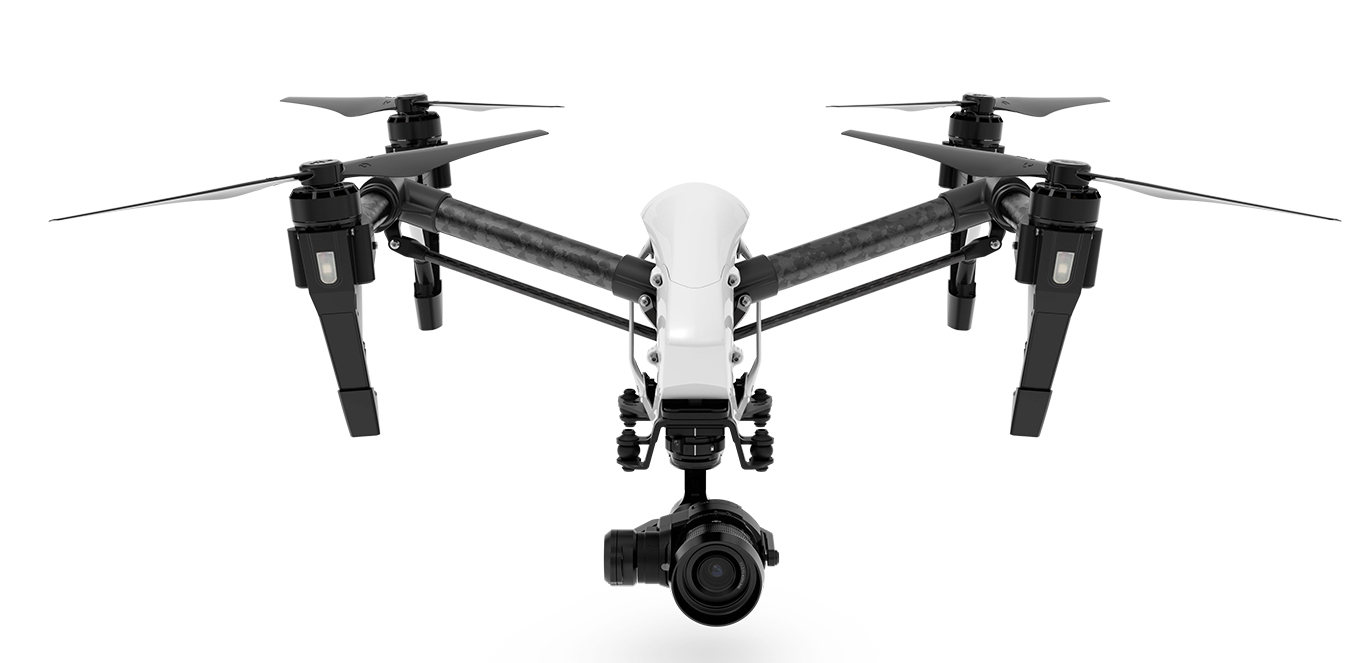 DJI's Inspire 1 Drone with the new X5 camera on-board