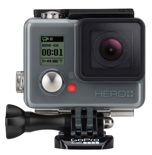 The new 'near entry level' GoPro is the HERO+ which adds Wi-Fi and Bluetooth to the basic model.