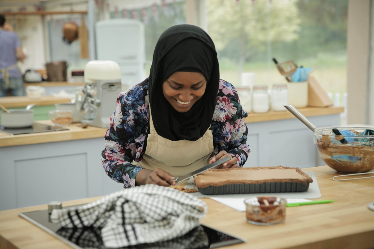Nadiya Hussain, the winner of 2015's GBBO watched by 13.4 million people.