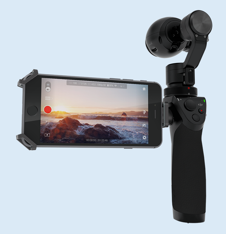 DJI's latest balancing act is the OSMO, a personal gimbal camera that uses your smart phone as a monitor - but haven't we seen all this already?