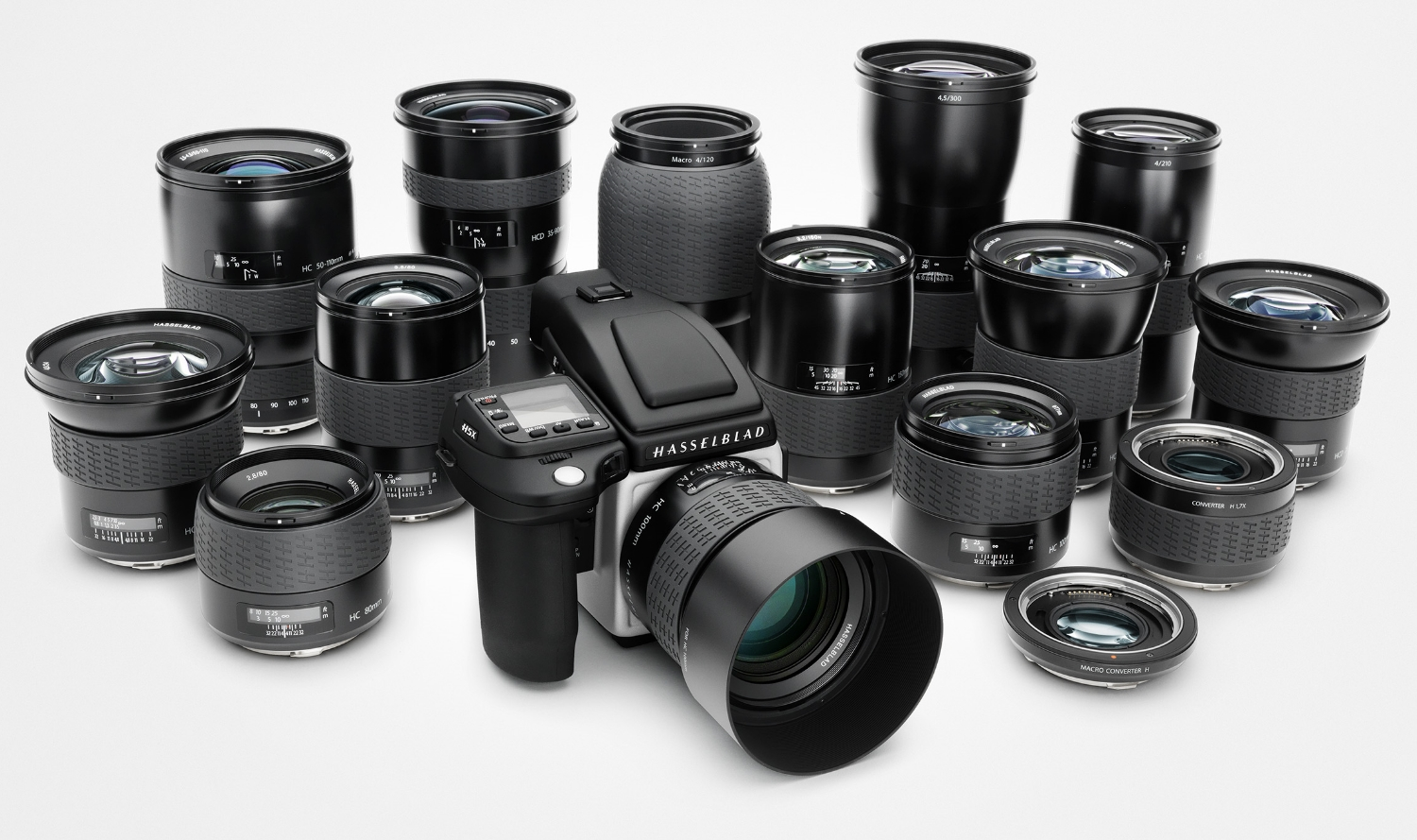 Part of the Hasselblad camera and lens family.