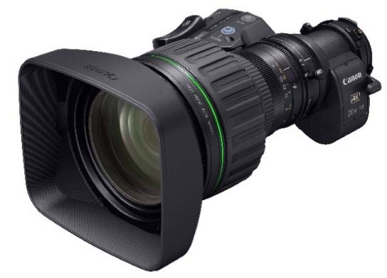 Canon new 4k zoom lens, the CJ20ex7.8B.