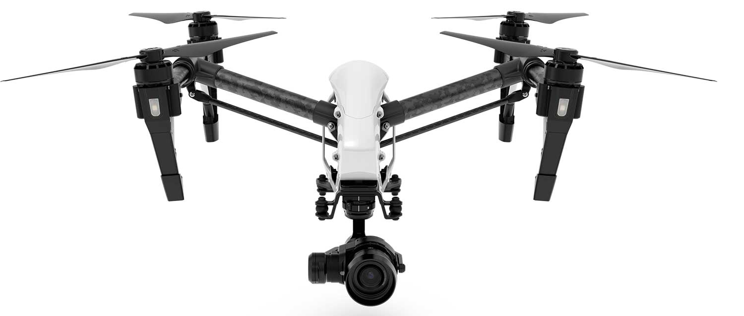 The DJI X5 Zenmuse camera on the Inspire 1 Drone.