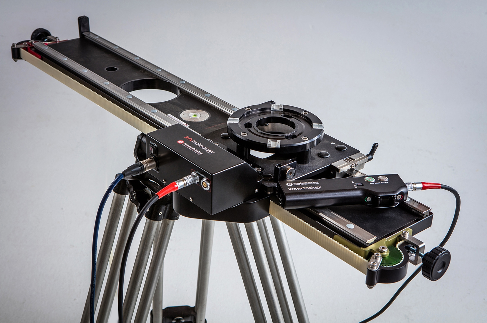 KFX Technology will launch their new high end motorised slider at the BSC Expo 2016 on the Ronford Baker stand, #209.