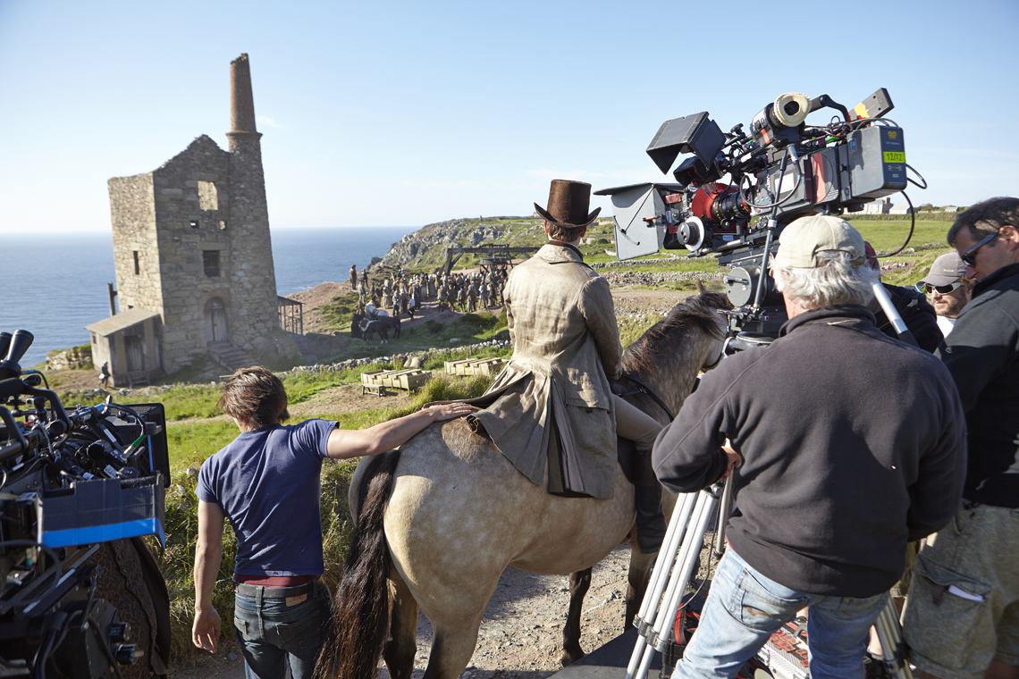 Did you notice the CG butterfly,the CG mines and the ships,in the BBC's 'Poldark'?