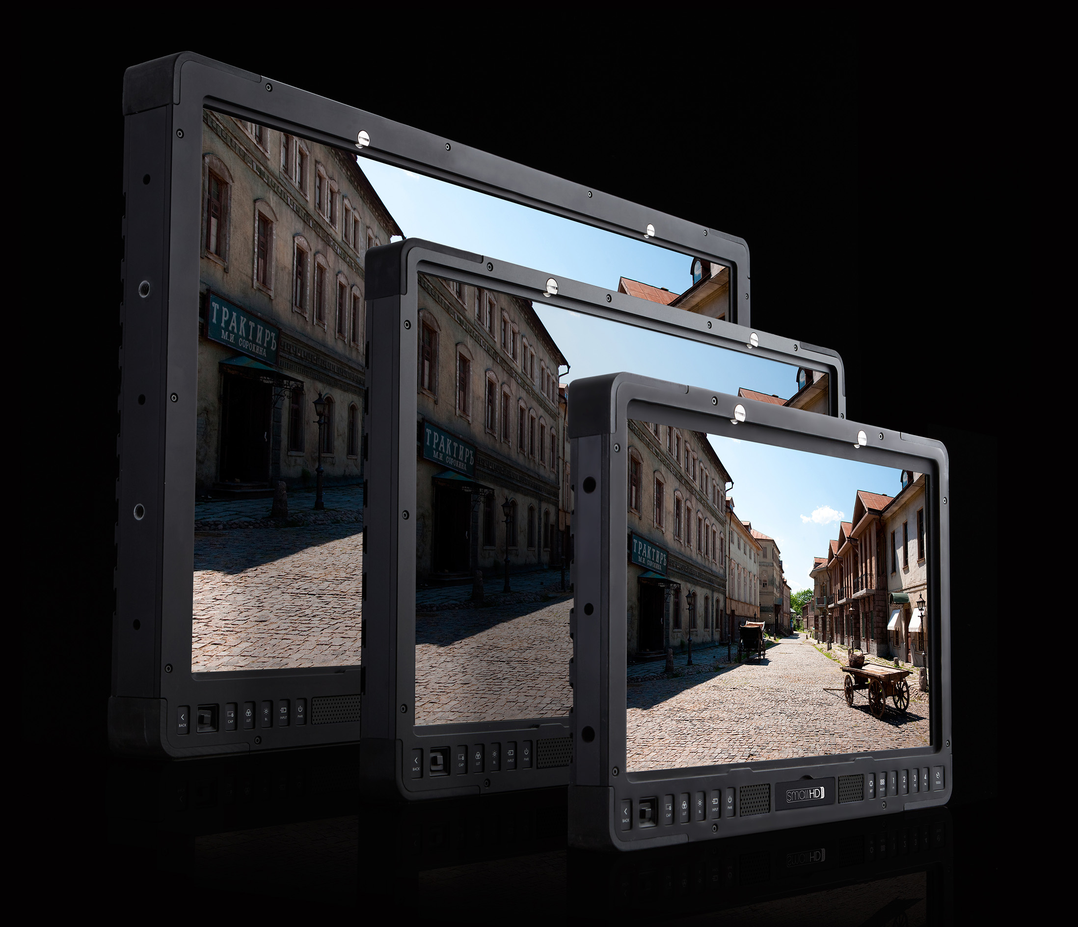 SmallHD's new HDR Production Monitors offer up to 1500 nits of light.
