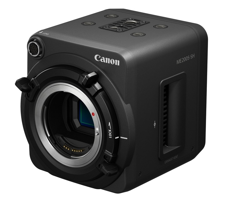 Canon's new ME200S HD box camera so even your remote shooting gets a creamy Canon look.