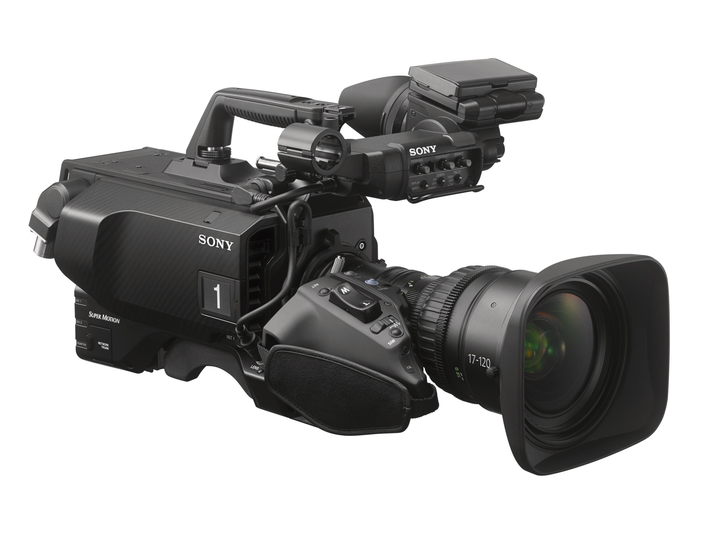 The new HDC-4800 high frame rate camera with 8X for 4K and 16 for HD. Good news for future Cinealta cameras that could use the same sensor and OLPF.
