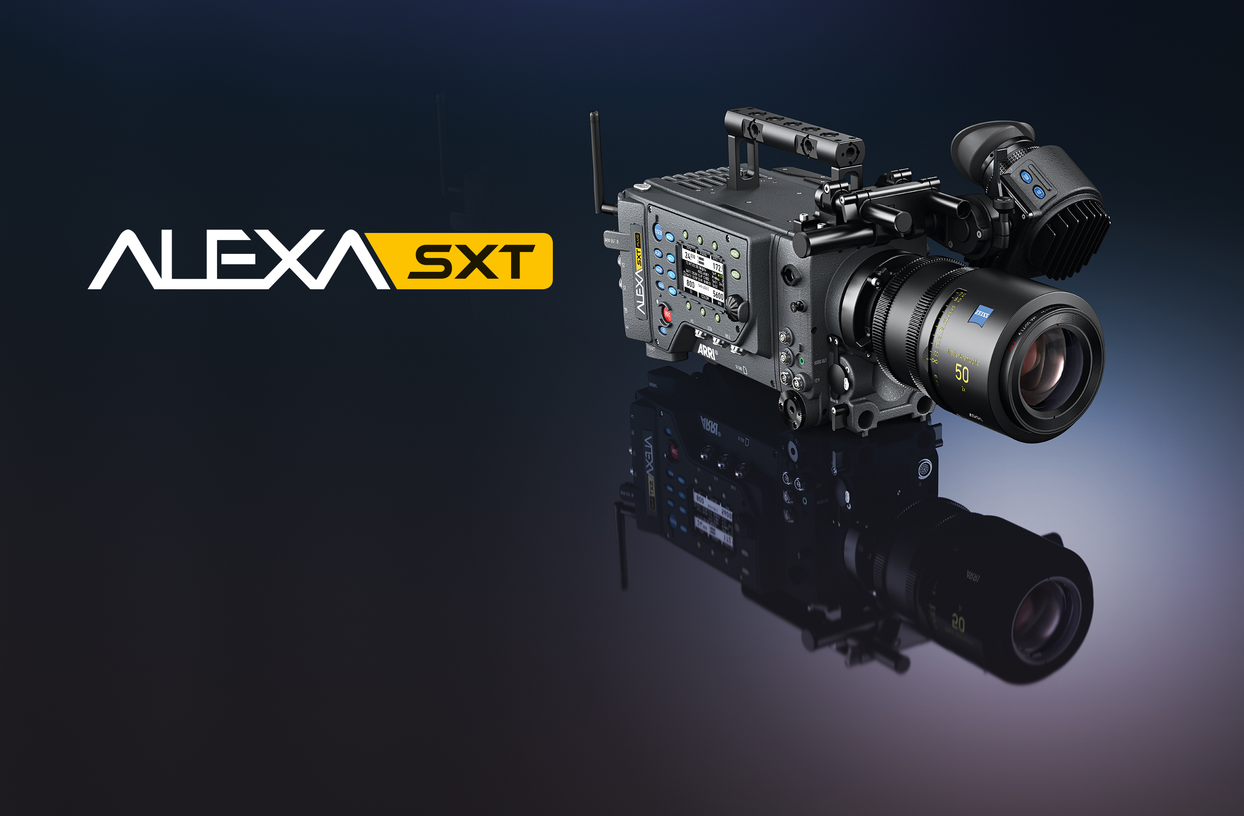 The ALEXA SXT camera now offers a total of 14 recording formats, including the following new modes.