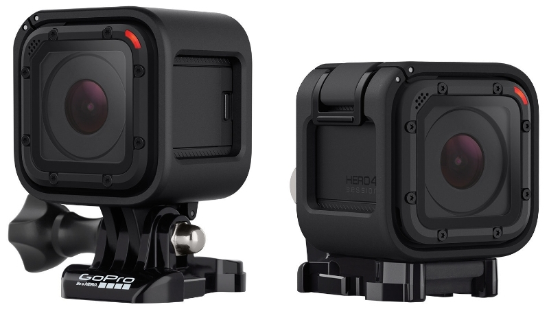 The cheapest GoPro is the HERO 4 Session.