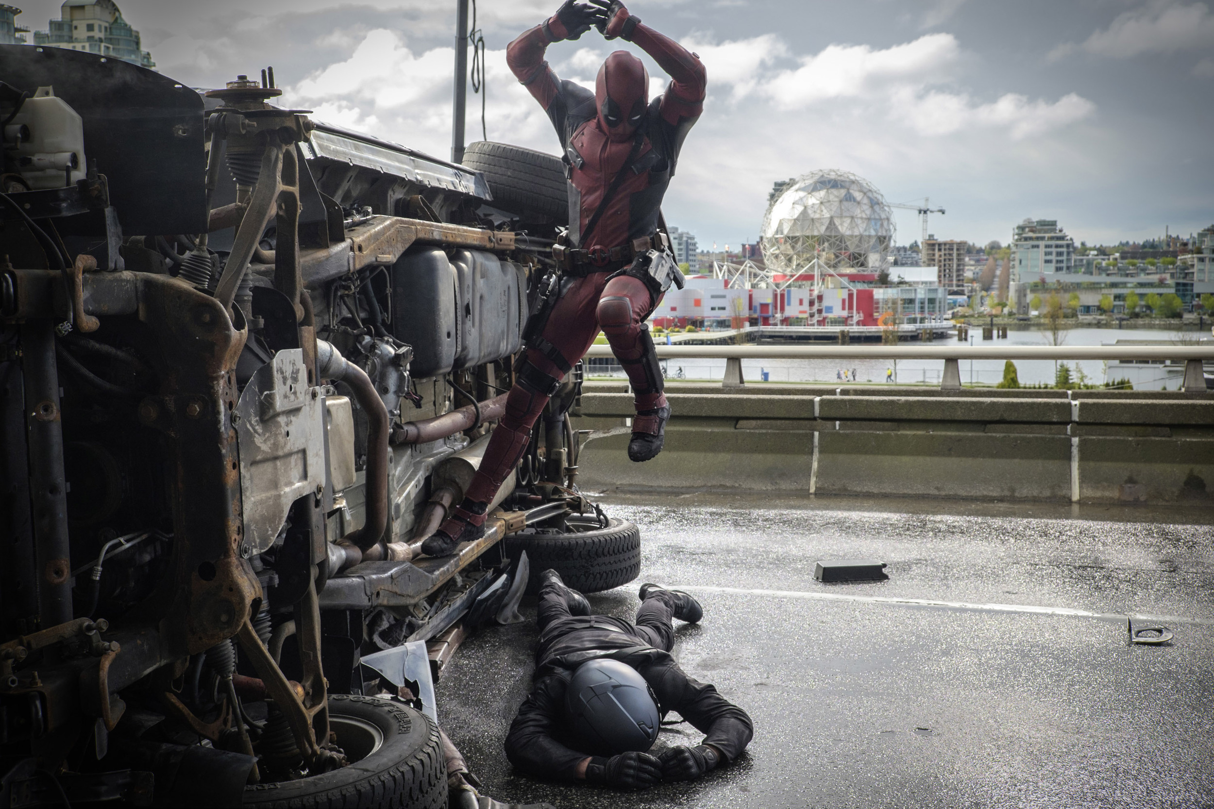 SHOOT STORY: 'Deadpool' — –HOME