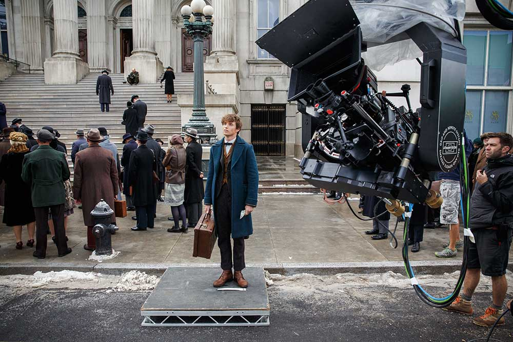 Actor Eddie Redmayne 'deep in method' for Fantastic Beasts and Where To Find Them. Full shoot and data story in the next issue.